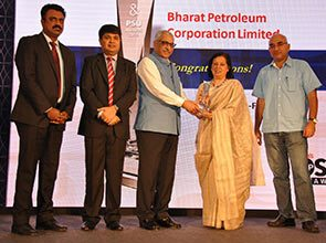 BPCL WINS DUN and BRADSTREET INDIA's TOP PSU's AWARD