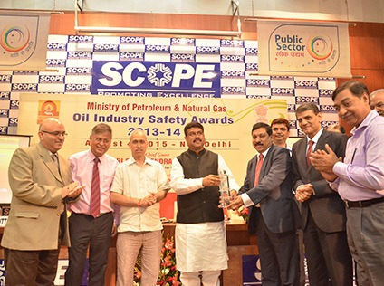 BPCL bags OISD Award for Retail Operations in Western Region