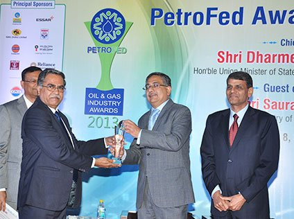 BPCL crowned with TOP TWO honours of PetroFed11