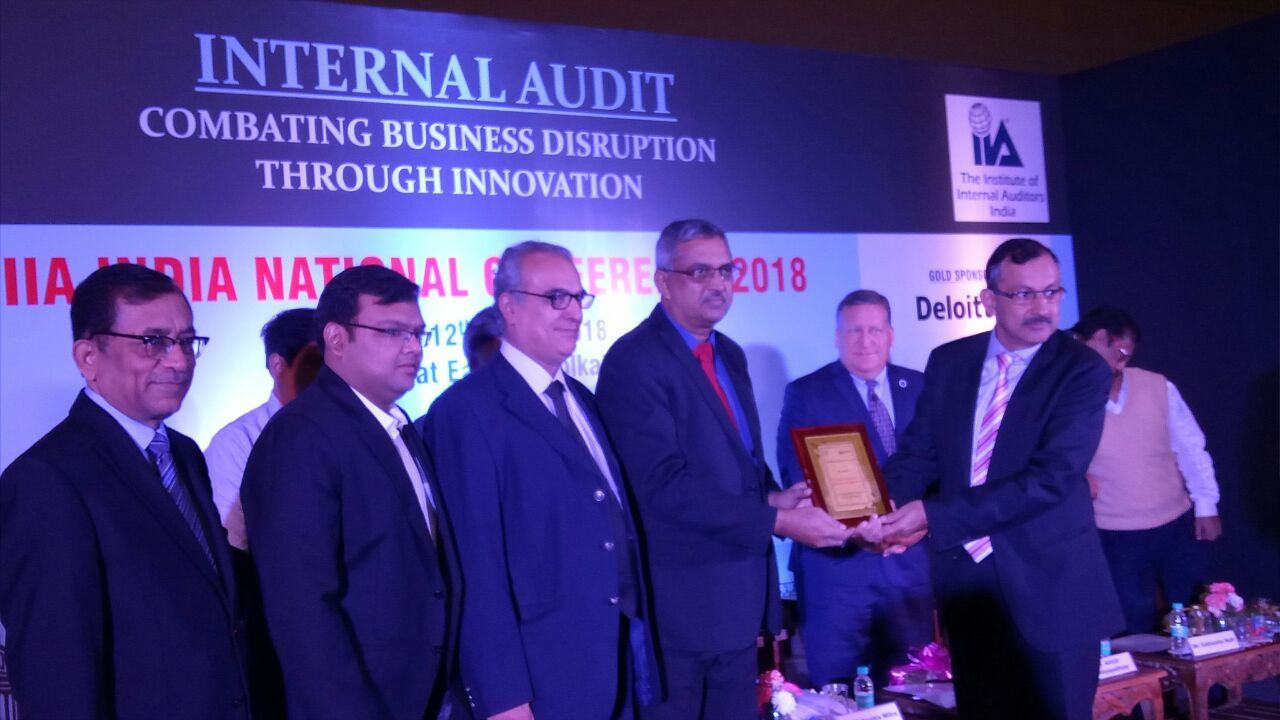 BPCL Internal Audit Wins Award of Excellence