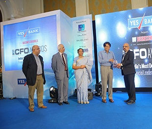 BPCL Director (Finance) Mr. P. Balasubramanian wins Business World BEST CFO Award