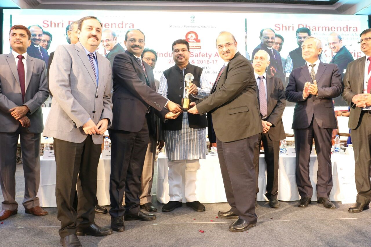BPCL LPG Marketing Receives OISD Safety Award for Best Performance