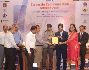 BPCL Annual Report Bags SCOPE Award
