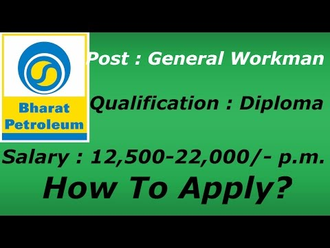 Bharat Petroleum Corporation Recruitment - 2015_Youtube_thumb