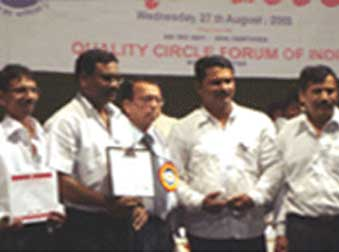 QCFI MUMBAI CHAPTER QUALITY CIRCLE TEAM AWARD