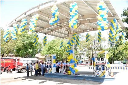 First Fully Automated Consumer Pump with Low cost canopy by I&C at Bhopal.